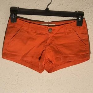 Orange Like New Hollister Shorts Size 24